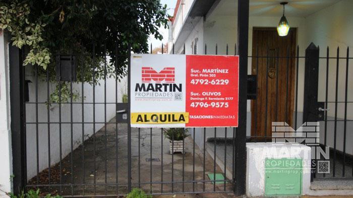 Foto Casa en Alquiler en  Mart.-Santa Fe/Fleming,  Martinez  PELLEGRINI al 2000