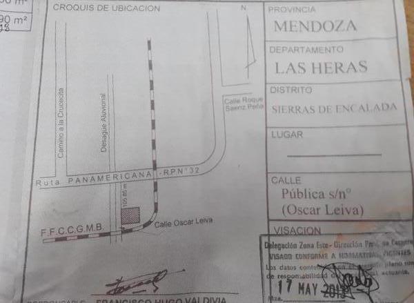 Foto Terreno en Venta en  Las Heras ,  Mendoza  Sierras de Encalada