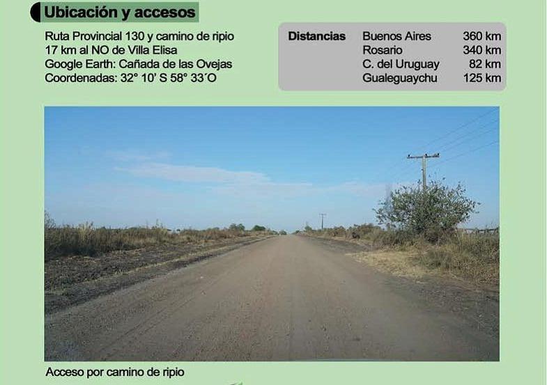 Foto Campo en Venta en  Villa Elisa,  Colon  Villa Elisa - Entre Rios