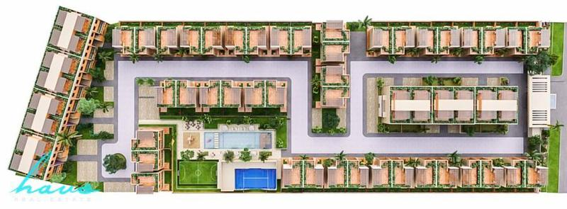 Foto Departamento en Venta en  Solidaridad,  Playa del Carmen  Aleda Playa del Carmen, Penthouse con 3 rec,  a partir de 223m2
