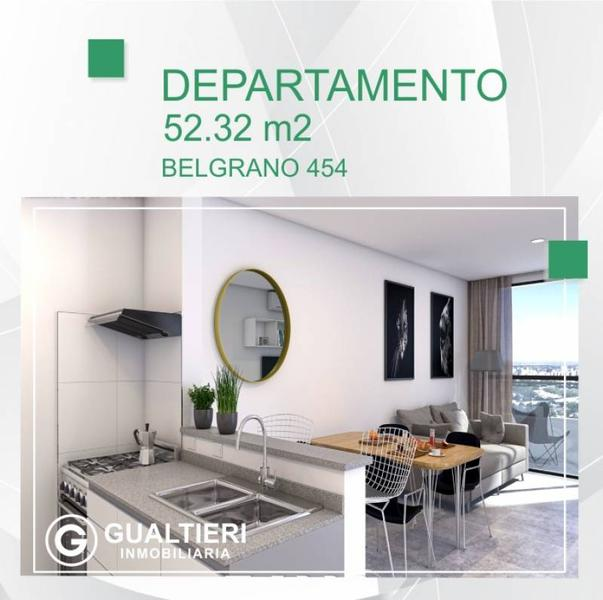 Foto Departamento en Venta en  Área Centro Oeste,  Capital  Belgrano  al 400. DEPARTAMENTOS  1 Y 2 DORMITORIOS DE 28.40 y 52.32 M2