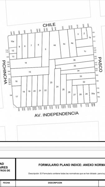 Foto Terreno en Venta en  San Cristobal ,  Capital Federal  PASCO al 700