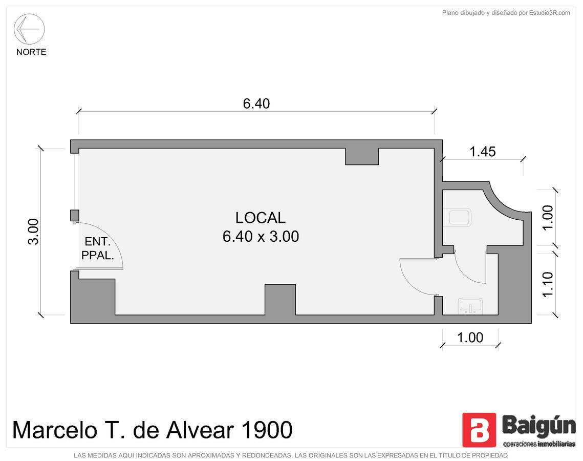 Marcelo T. de Alvear y Riobamba