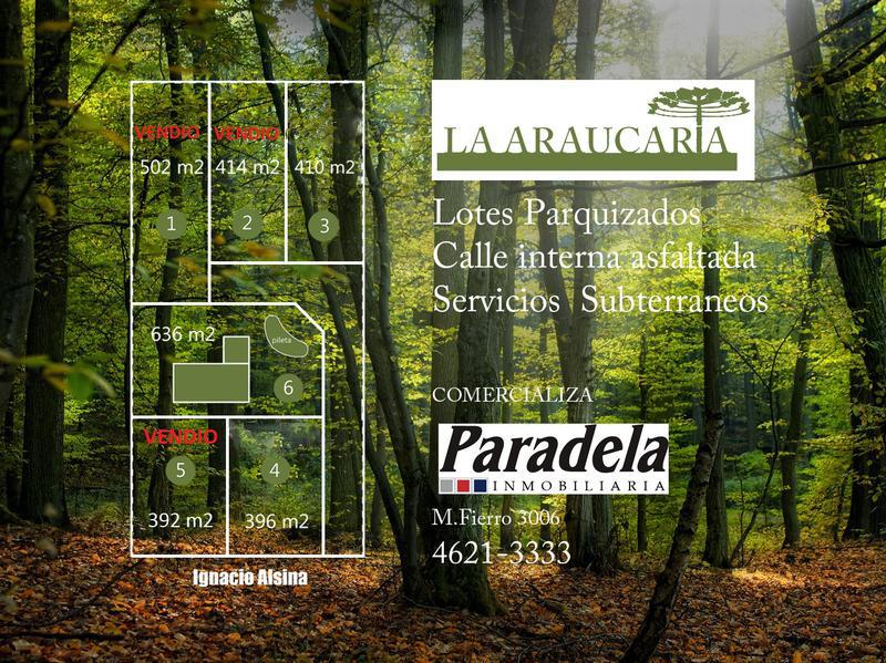 Foto Terreno en Venta en  Barrio Parque Leloir,  Ituzaingo  Alsina al 2200