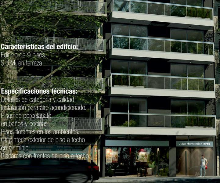 Foto Departamento en Venta en  Belgrano ,  Capital Federal  1 y 2 Ambientes Pozo en Belgrano. Entrega JUNIO 2022