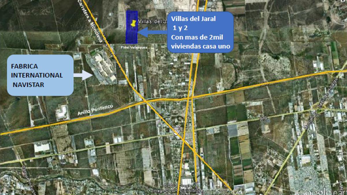 Foto Terreno en Venta en  El Jaral,  Carmen  Villas del Jaral