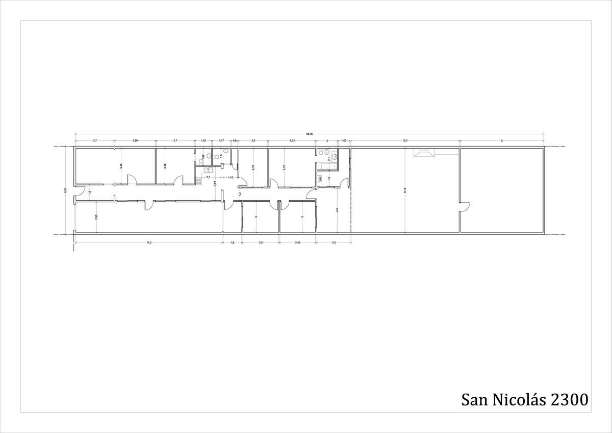 Foto Casa en Venta en  Villa del Parque ,  Capital Federal  SAN NICOLAS al 2300