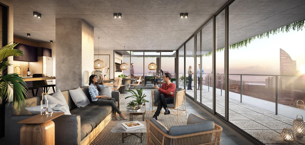 Foto Apartamento en Venta en  Aguada ,  Montevideo  Proyecto 01  - Av. Libertador