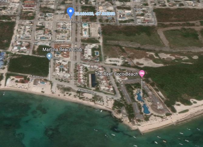 Foto Departamento en Venta en  Playa del Carmen,  Solidaridad  DEPARTAMENTO EN VENTA A 1 CUADRA DE LA PLAYA
