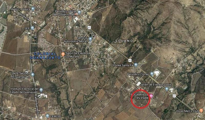 Foto Terreno en Venta en  Yerbabuena,  Guanajuato  Terreno Rústico en VENTA en La Carbonera Guanajuato