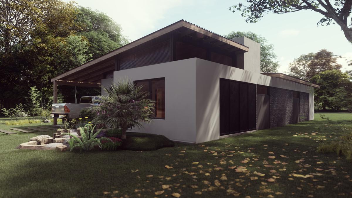 Foto Casa en Venta en  Costa Del Este ,  Costa Atlantica  Proyecto AQUA - Los Nogales entre Pensamientos y Malvones