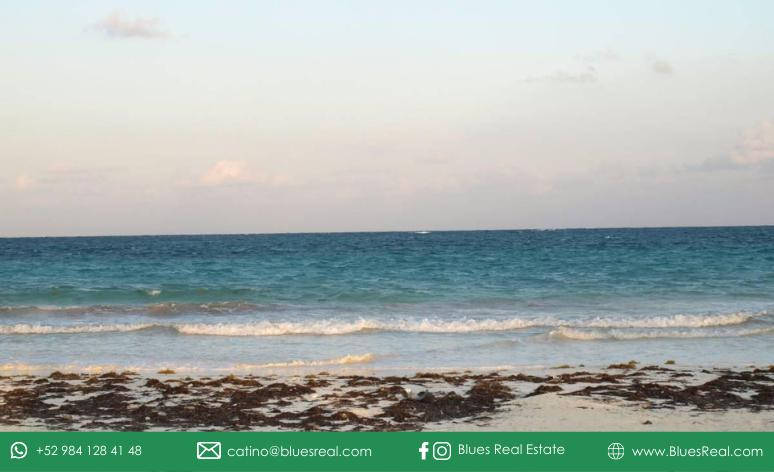 Picture Land in Sale in  Tulum ,  Quintana Roo  Wonderful land by the sea in Boca Paila in Tulum, Quintana Roo   Blues Real   Code 927