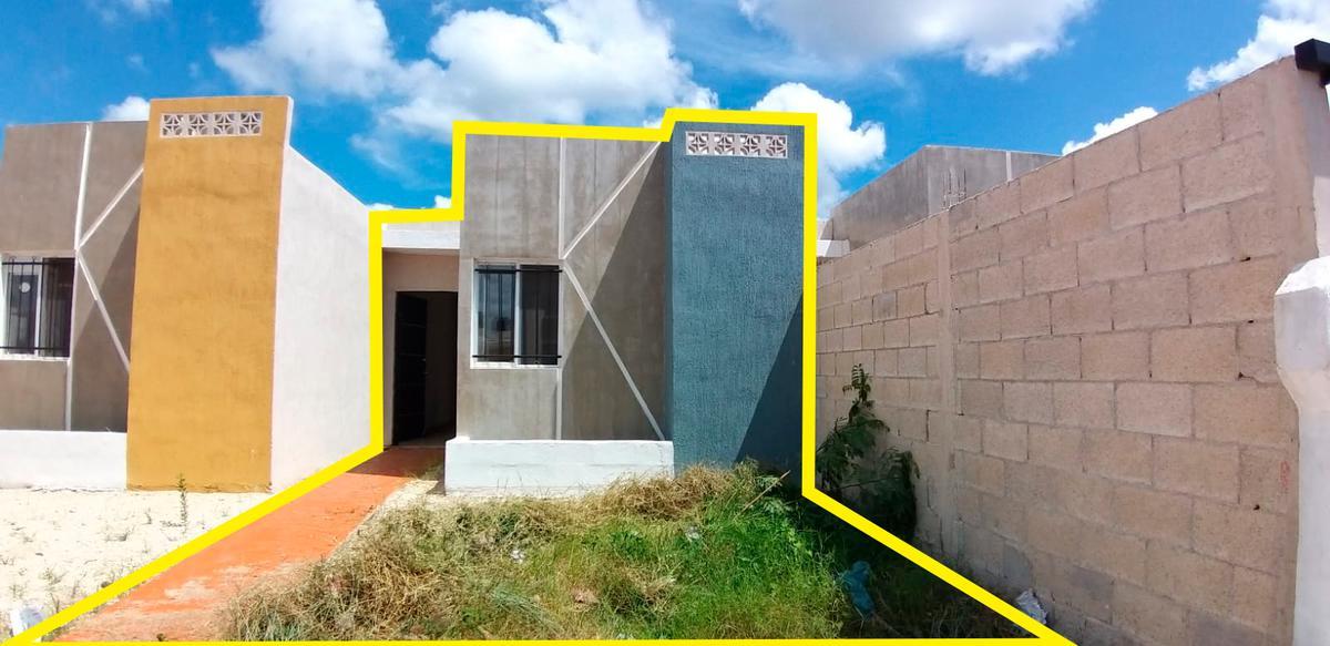 Foto Casa en Renta en  Kanasín ,  Yucatán  Casa en Renta en Kanasin, de 2 habitaciones ¡Lista para ocupar!