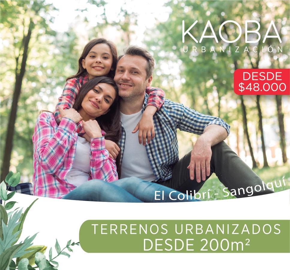 Foto Terreno en Venta en  Los Chillos,  Quito   TERRENOS URBANIZADOS 206M2  SANGOLQUI