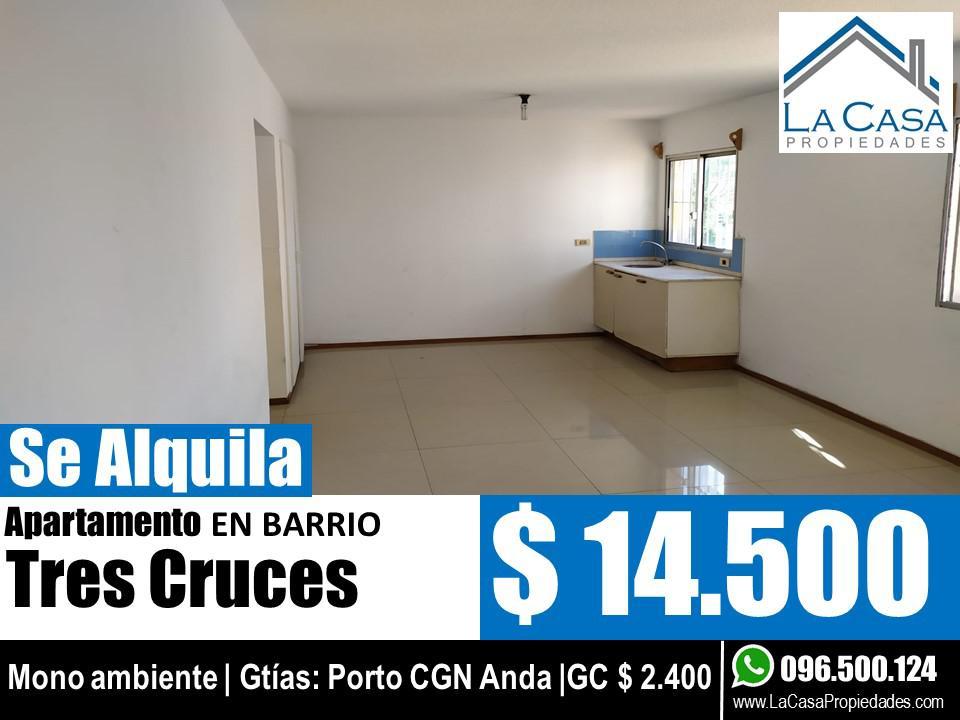Foto Apartamento en Alquiler en  Tres Cruces ,  Montevideo  Goes al 2300