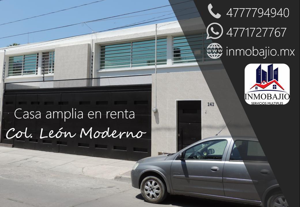 Foto Casa en Renta en  León Moderno,  León  Casa ideal para oficinas en col. León Moderno