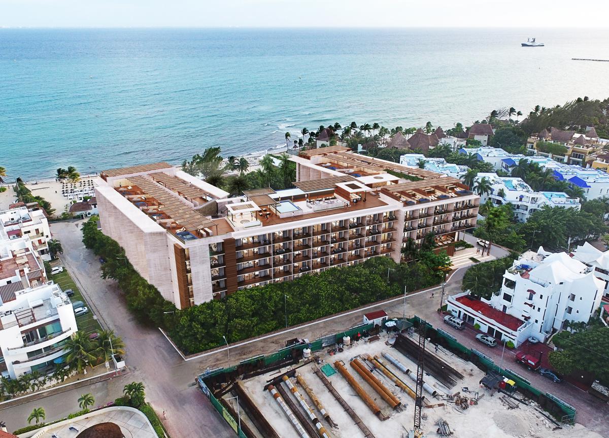 Foto Departamento en Venta en  Playa del Carmen,  Solidaridad  INCREIBLE DEPARTAMENTO EMMA Y ELISSA 1 REC CON JARDÍN CON VISTA A C. 40 Y C. FLAMINGOS