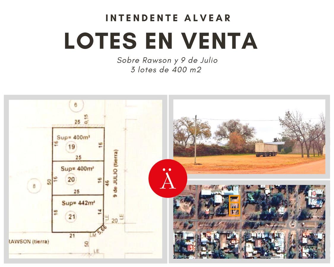 Foto Terreno en Venta en  Intendente Alvear,  Chapaleufu  Rawson y 9 de Julio - Intendente Alvear
