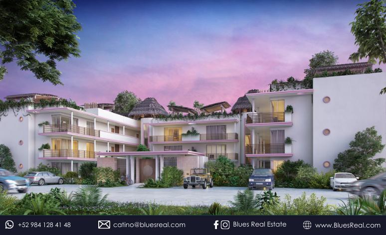 Picture Apartment in Sale in  Tulum ,  Quintana Roo  Carmela Condo in Tulum, Quintana Roo   Code 329