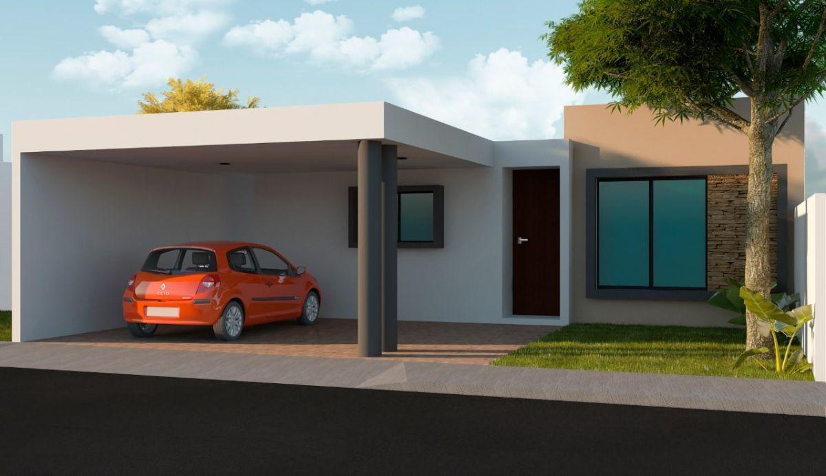 Foto Casa en Venta en  Pueblo Cholul,  Mérida  casa en venta de un piso- 3 habits en privada
