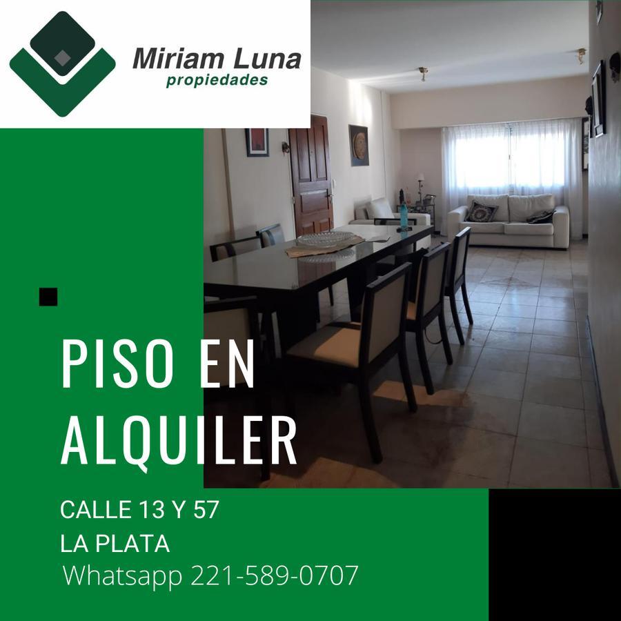 Foto Departamento en Alquiler en  Microcentro,  La Plata  13 y 57
