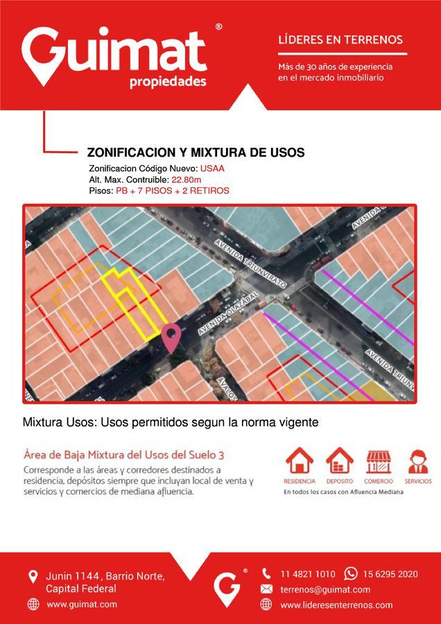 Foto Terreno en Venta en  Villa Urquiza ,  Capital Federal  OLAZABAL al 5000