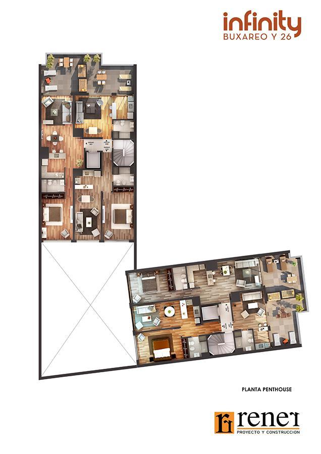 Foto Apartamento en Venta en  Pocitos ,  Montevideo  Buxareo 1185