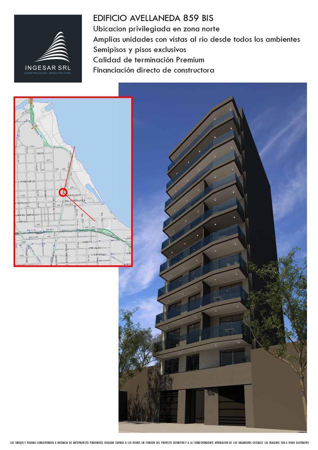Foto Departamento en Venta en  Rosario ,  Santa Fe  Bv Avellaneda  bis 800