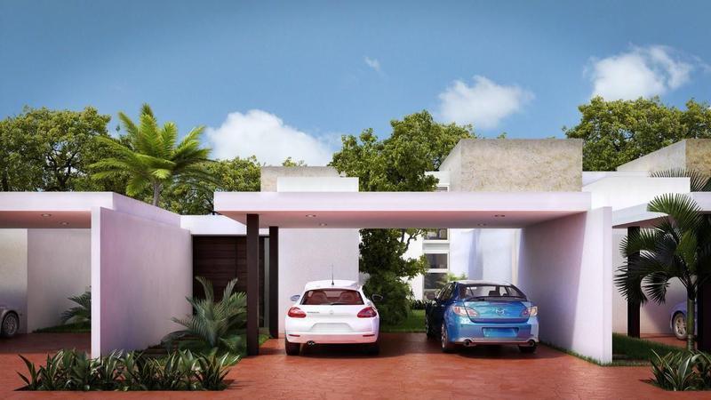 Foto Casa en condominio en Venta en  Pueblo Dzitya,  Mérida  PRIVADA CAMPOCIELO EN DZITYA, CASA CONFORT