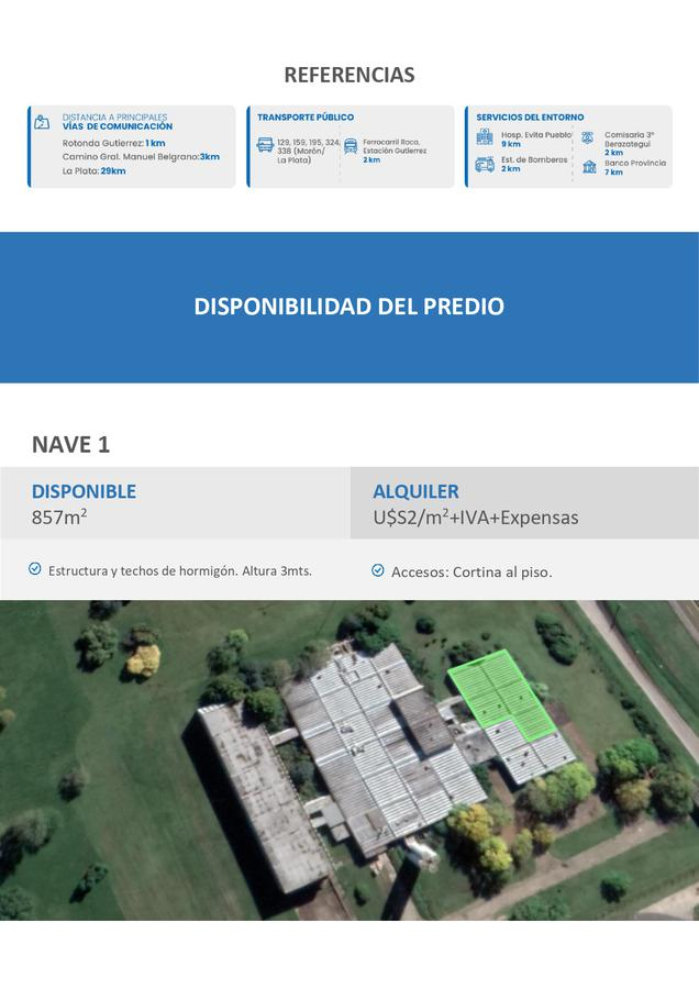 Nave Industrial - Florencio Varela-2