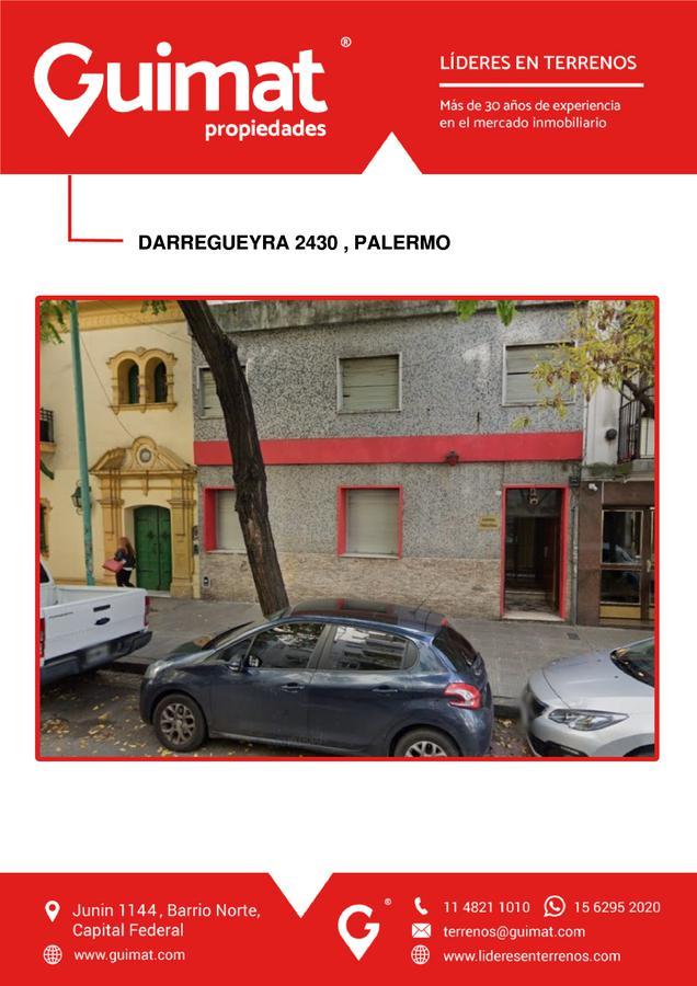 Foto Terreno en Venta en  Palermo ,  Capital Federal  DARREGUEYRA al 2400