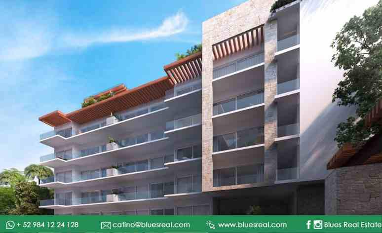 Picture Apartment in Sale in  Playa del Carmen,  Solidaridad  For sale new apartments in Solea | Blues Real | Code 451