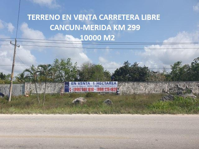 Foto Terreno en Venta en  Alfredo V Bonfil,  Cancún  Alfredo V Bonfil