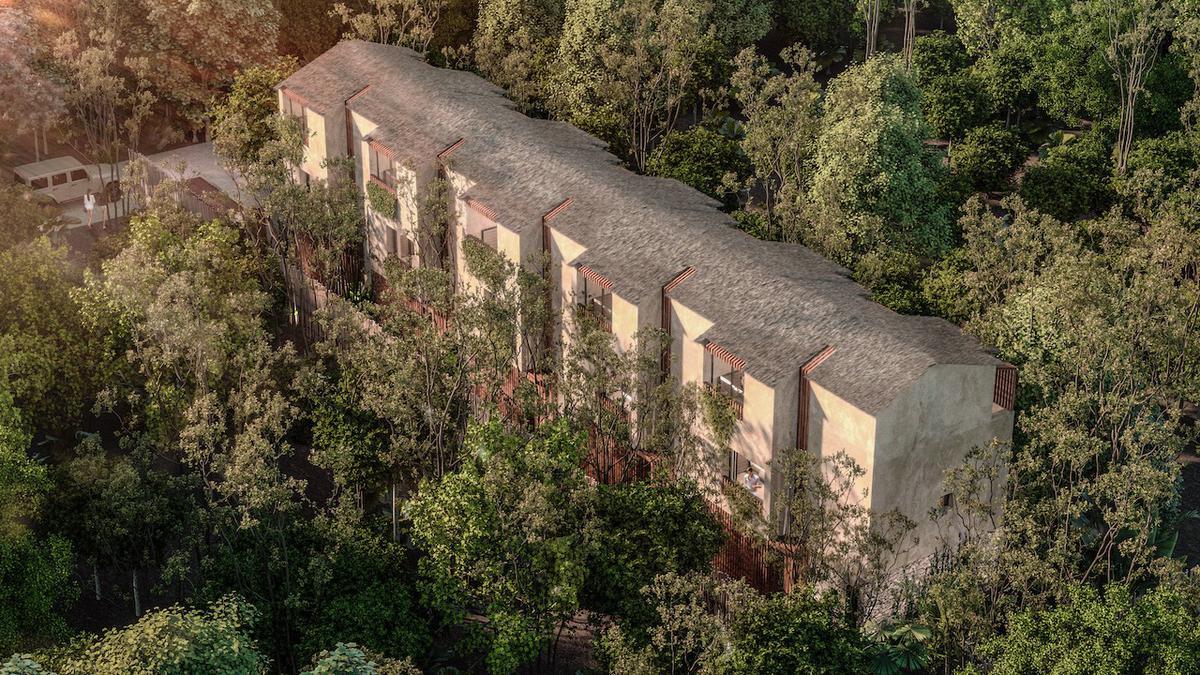 Foto Casa en Venta en  Tulum ,  Quintana Roo  TOWNHOUSE 2 HAB. - COMPLEJO DE 5 CASAS-ALBERCA Y JARDÍN - RODEADO DE AREAS VERDES- TULUM