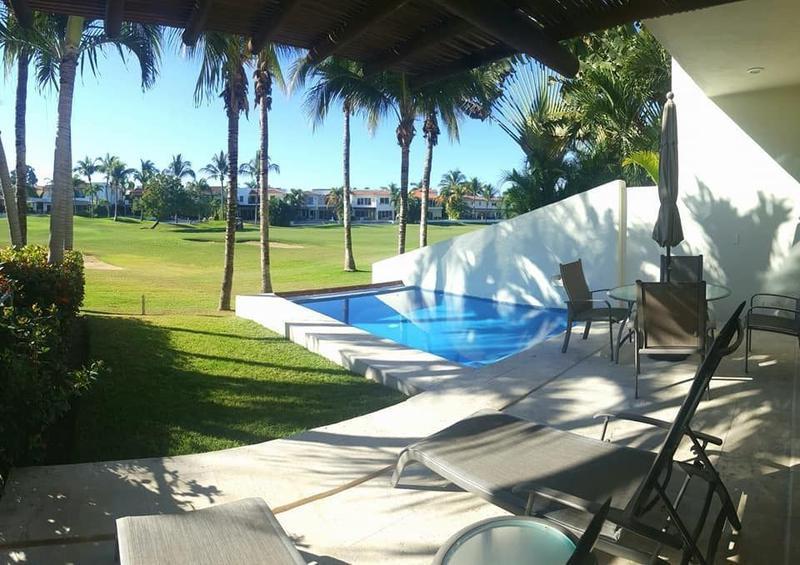 Foto Casa en condominio en  en  Ejido Nuevo Vallarta,  Bahía de Banderas  Casa en renta El Tigre Nuevo Vallarta, frente al campo de golf