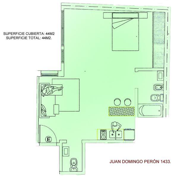 Foto Departamento en Venta en  Microcentro,  Centro (Capital Federal)  Peron al 1400