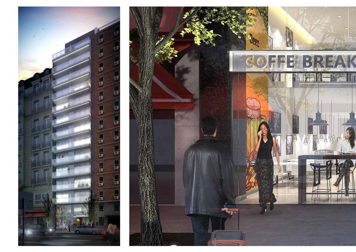 Foto Local en Venta en  Capital Federal ,  Capital Federal  Av. Córdoba 618 * - Local Comercial en 3 plantas - Sup. 257.11 m2. - Valor m2: USD 6.223