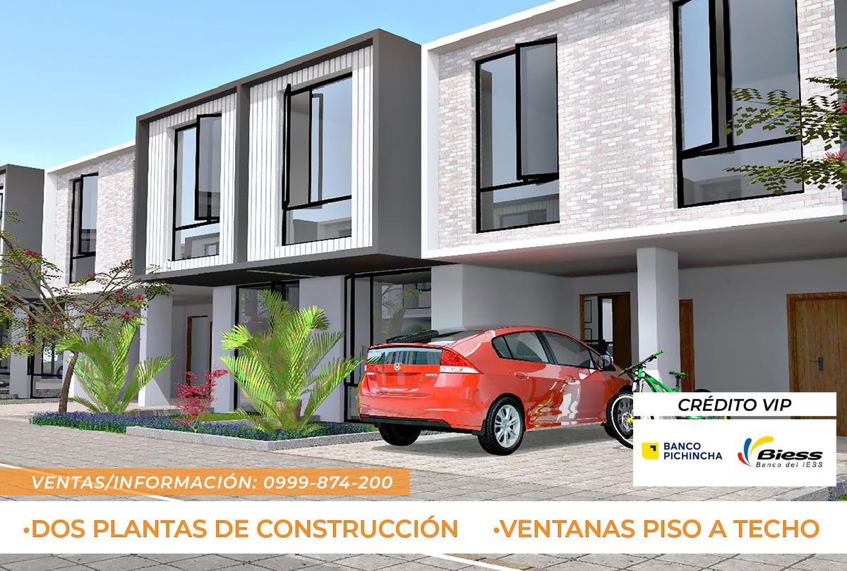 Foto Casa en Venta en  Tumbaco,  Quito  Casa a Estrenar - Tumbaco La Morita - Crédito VIP