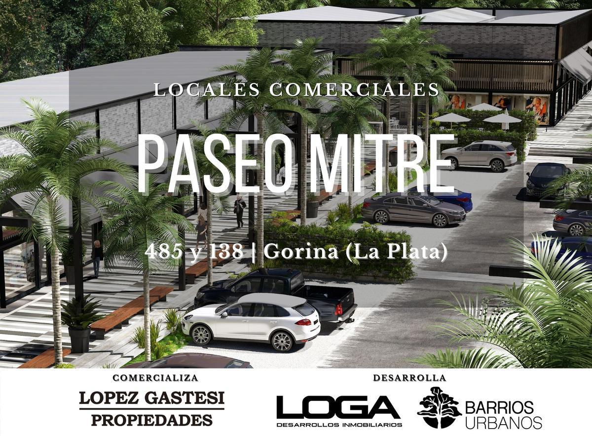 Foto Local en Venta en  Joaquin Gorina,  La Plata  PASEO MITRE   485 esq.138   LOCAL 22