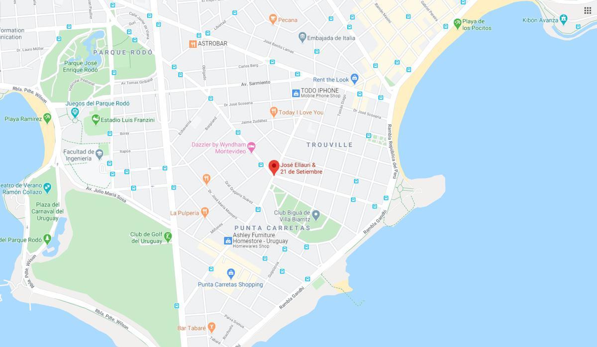 Foto Terreno en Venta en  Punta Carretas ,  Montevideo  PROXIMO ELLAURI Y 21 DE SETIEMBRE