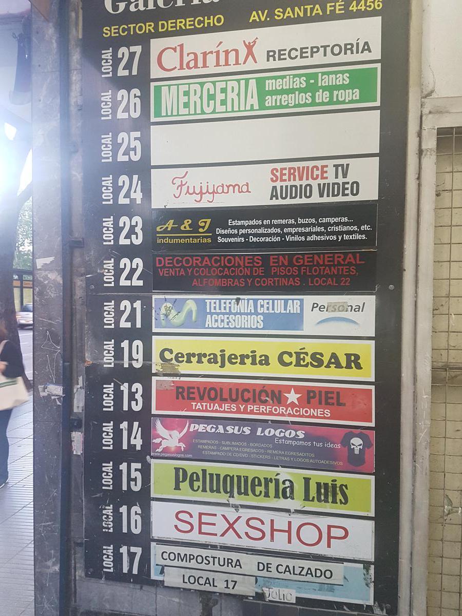 Foto Local en Venta en  Palermo ,  Capital Federal  Av Santa Fe al 4400