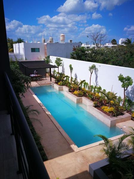 Foto Departamento en Renta en  Xcumpich,  Mérida  Departamento en renta en Merida, Zona norte de La Ciudad ¡con piscina!