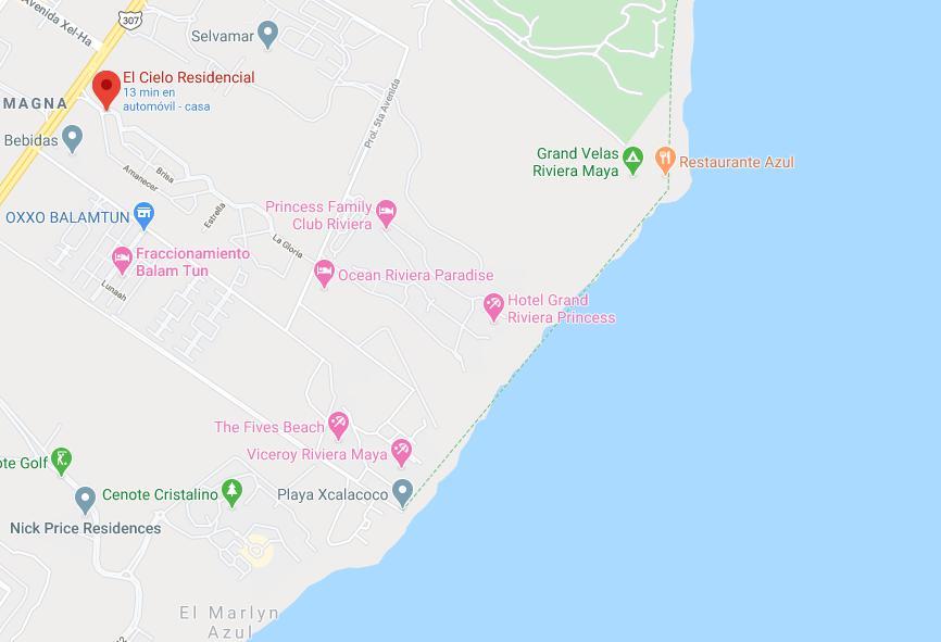 Foto Departamento en Venta en  Playa del Carmen,  Solidaridad  2 REC EN EL CIELO CON ALBERCA