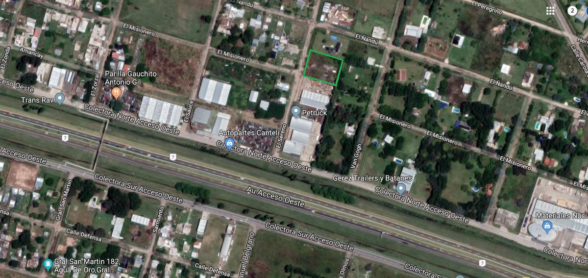 Foto Terreno en Alquiler en  General Rodriguez ,  G.B.A. Zona Oeste  El Sereno entre Acceso Oeste Colectora Norte y El Ñandu