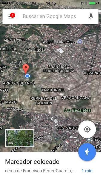 Foto Terreno en Venta en  Francisco Ferrer Guardia,  Xalapa  EN PAGOS $1,699 POR M2 TERRENO CÉNTRICO EN XALAPA,VERACRUZ.,