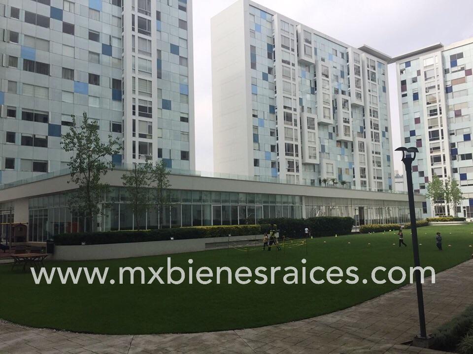Foto Departamento en Renta en  Magnocentro,  Huixquilucan   Increíble Garden Suite en Residencial Atrio, Interlomas