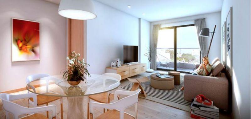 Foto Departamento en Alquiler en  Pocitos Nuevo ,  Montevideo  Apartamento Alquiler Un ambiente  amplio, Pocitos
