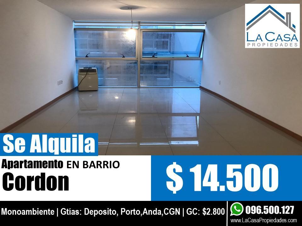 Foto Apartamento en Alquiler en  Cordón ,  Montevideo  Arenal Grande al 1400
