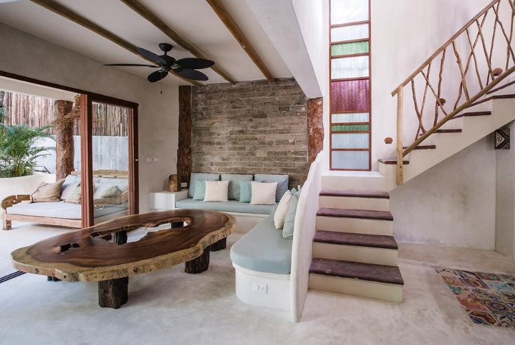 Foto Casa en Renta temporal en  Tulum Centro,  Tulum      Casa en renta en Tulum en la playa