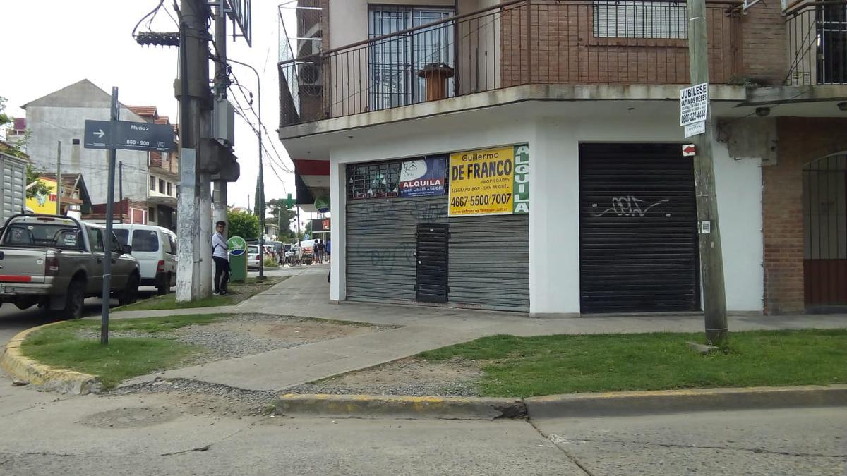 Foto Local en Alquiler en  Muñiz,  San Miguel  Muñoz esquina San José